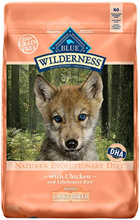 BLUE Wilderness High Protein Grain Free Puppy Dry Dog Food