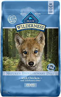 Blue Buffalo Wilderness High Protein Grain Free, Natural Puppy Dry Dog Food, Chicken