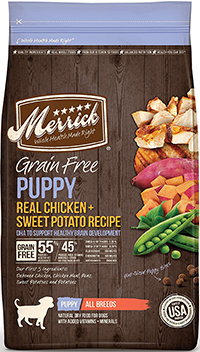 Merrick Grain Free Puppy Recipe Dry Dog Food