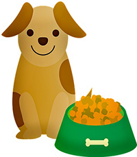 pup meal with Healthy Fats and Complex Carbohydrates