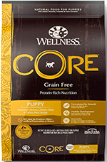 Wellness Core Natural Grain Free Dry Dog Food Puppy