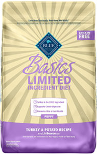 Blue Buffalo Basics Limited Ingredient Diet, Natural Puppy Dry Dog Food, Turkey & Potato