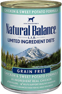 Natural Balance Limited Ingredient Diets Wet Dog Food Chicken & Sweet Potato
