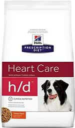Hill's Prescription Diet h d Heart Care Chicken Flavor Dry Dog Food
