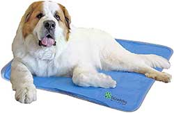 Patented Pressure-Activated Gel Cooling Pad for Dogs & Pets - Dog Accessories to Help Your Pet Stay Cool This Summer