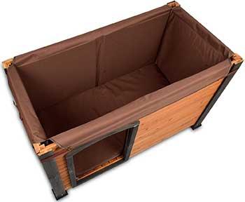 Precision Pet by Petmate Log Cabin Dog House Insulation Kit - Machine Washable - 3 Sizes