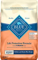 Blue Buffalo Life Protection Formula Large Breed Puppy Chicken & Brown Rice Recipe Dry Dog Food
