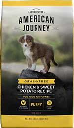 American Journey Chicken & Sweet Potato Recipe Grain-Free Puppy Dry Dog Food
