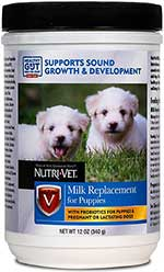 Nutri-Vet Puppy Milk Replacement Powder,