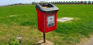 Dog Poop Disposal bin