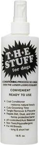 The Stuff Dog Conditioner.Ready to use