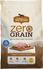 Rachael Ray Nutrish Zero Grain Natural Turkey & Potato Recipe Grain-Free Dry Dog Food