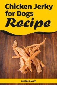 How to Make Chicken Jerky for Dogs (homemade dog treat recipe)