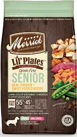 Merrick Lil' Plates Grain-Free Real Chicken & Sweet Potato Senior Dry Dog Food