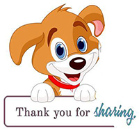 thank you for sharing puppy