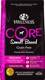 Wellness CORE Grain-Free Small Breed Turkey & Chicken Recipe Dry Dog Food
