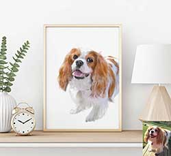 Custom Dog Portrait - Personalized Pet Portrait