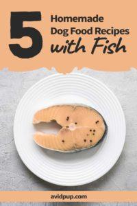 Homemade Dog Food Recipes with Fish … (5 Recipes)