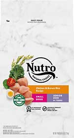 Nutro Natural Choice Small Breed Senior Chicken & Brown Rice Recipe Dry Dog Food
