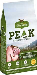 Rachael Ray Nutrish PEAK Northern Woodlands Recipe with Turkey, Duck & Quail Natural Grain-Free Dry Dog Food