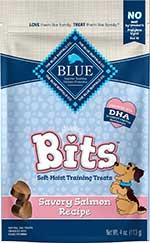Blue Buffalo Blue Bits Savory Salmon Recipe Soft-Moist Training Dog Treats